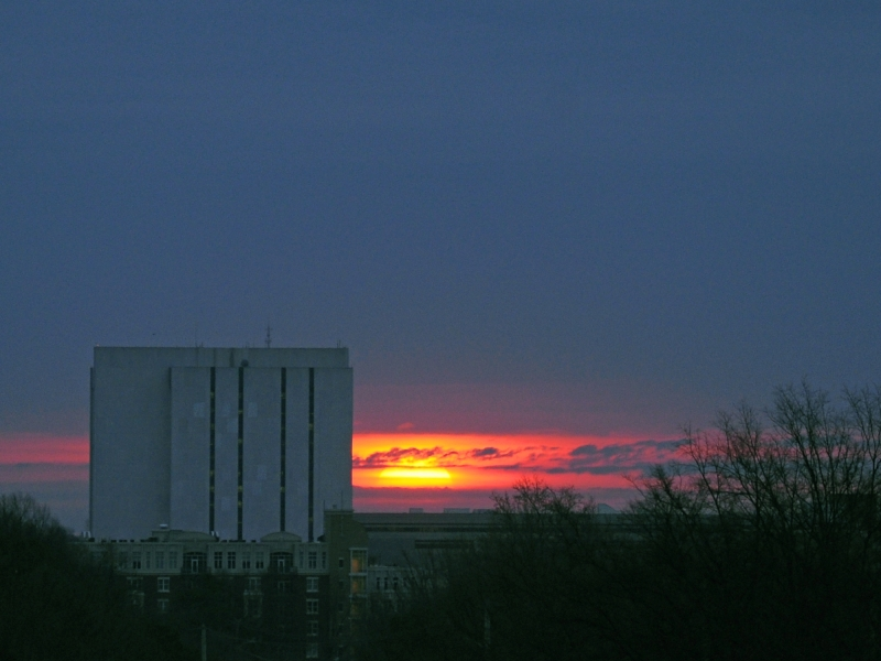 Raleigh Sunrise 20090227