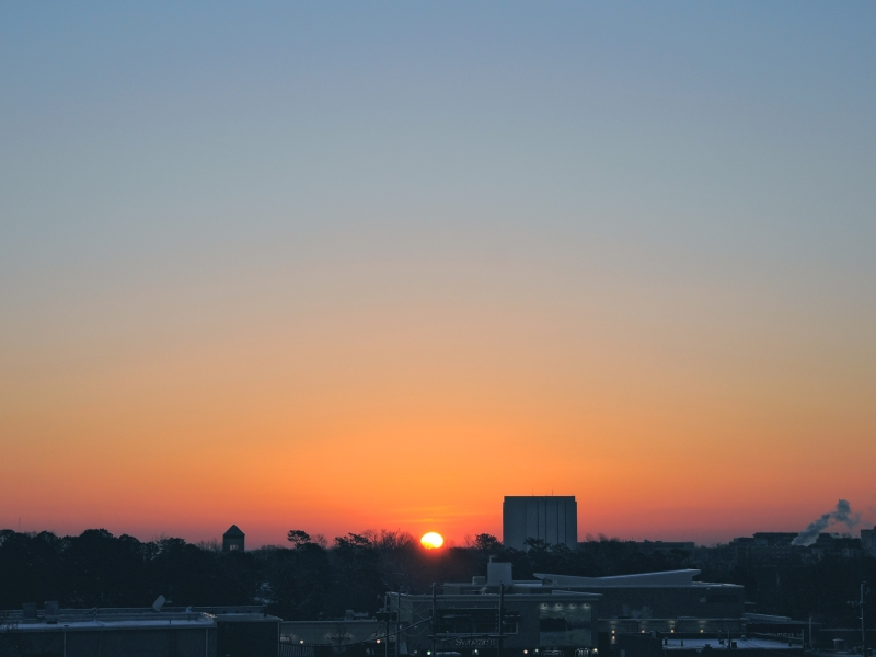 Raleigh Sunrise 20090303