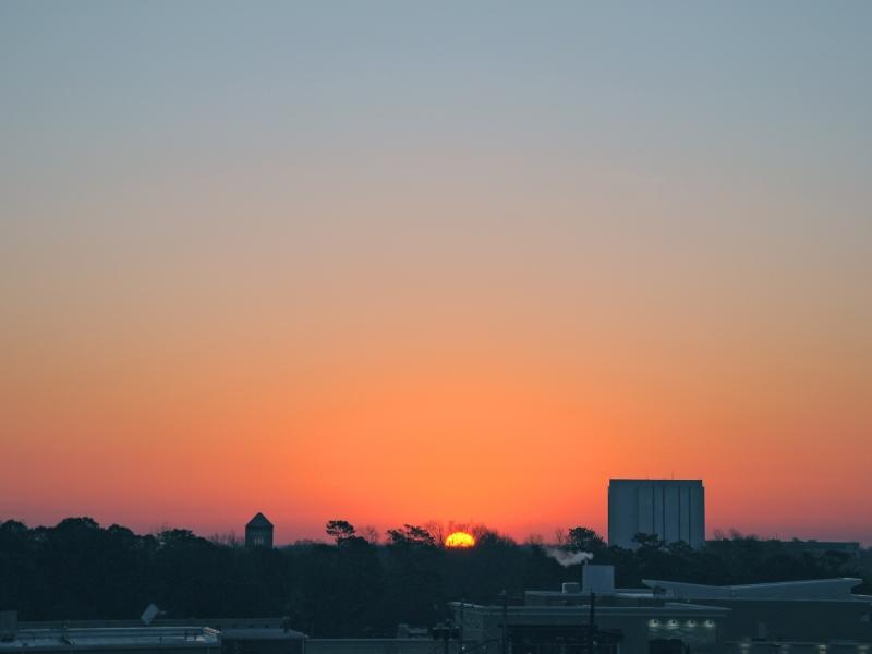 Raleigh Sunrise 20090305