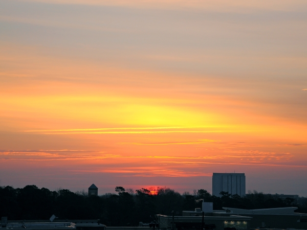 Raleigh Sunrise 20090306