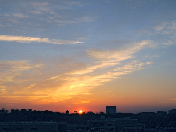 Raleigh Sunrise 20090309