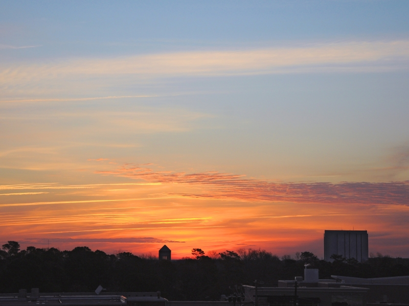 Raleigh Sunrise 20090310