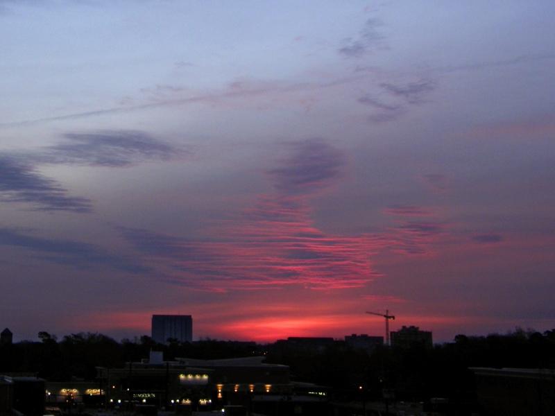 Raleigh Sunrise 20080212