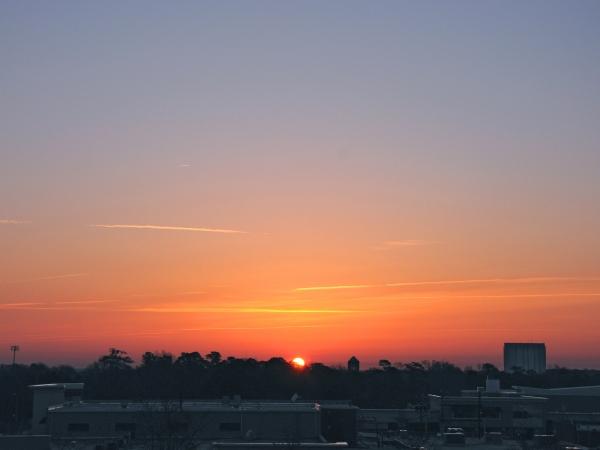 Raleigh Sunrise 20090319