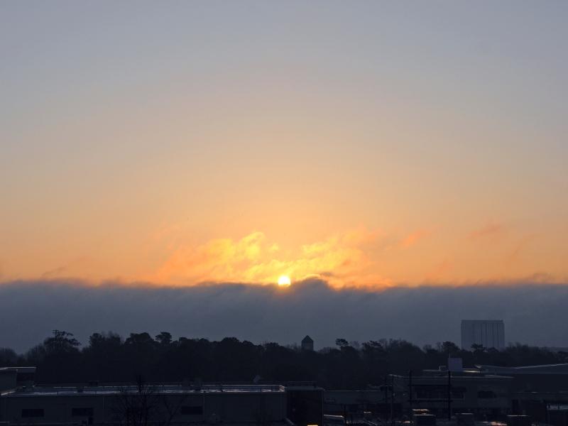 Raleigh Sunrise 20090320