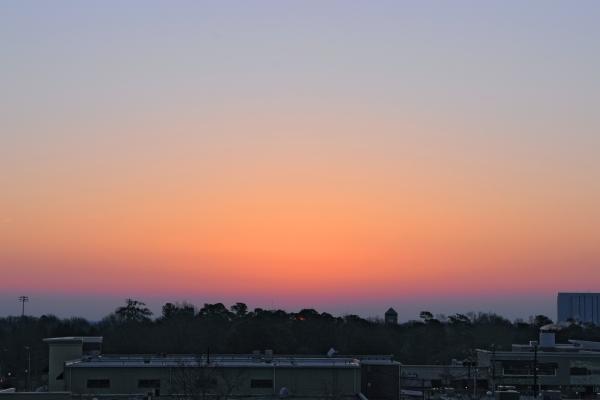 Raleigh Sunrise 20090321