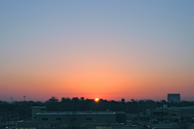 Raleigh Sunrise 20090322