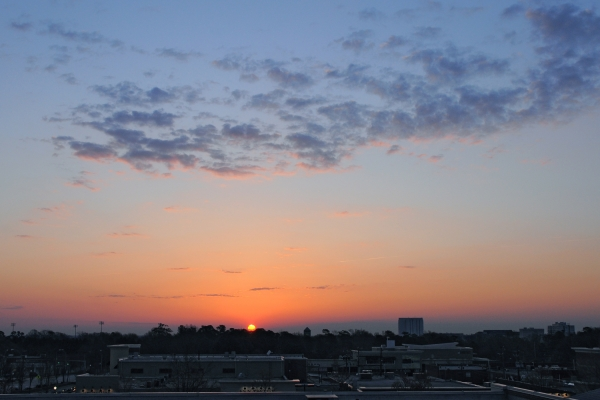 Raleigh Sunrise 20090323