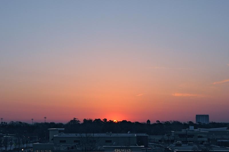 Raleigh Sunrise 20090324