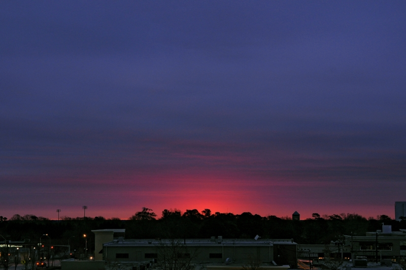 Raleigh Sunrise 20090325