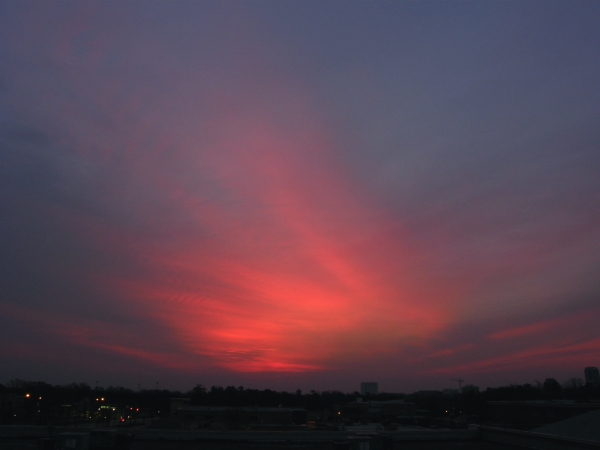 Raleigh Sunrise 20080314