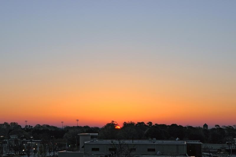 Raleigh Sunrise 20090404