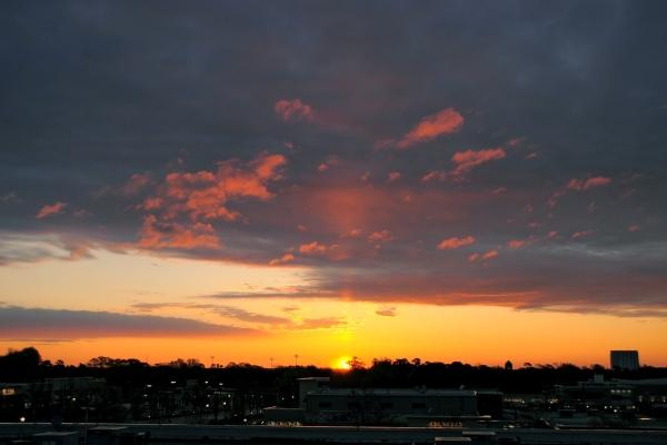 Raleigh Sunrise 20090407