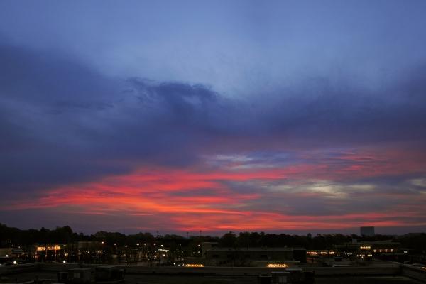Raleigh Sunrise 20090410