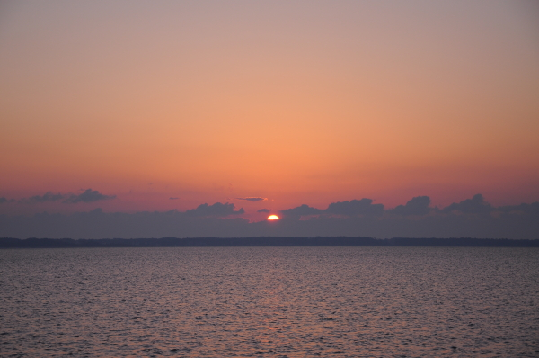 Easter Sunrise Morehead City 20090412