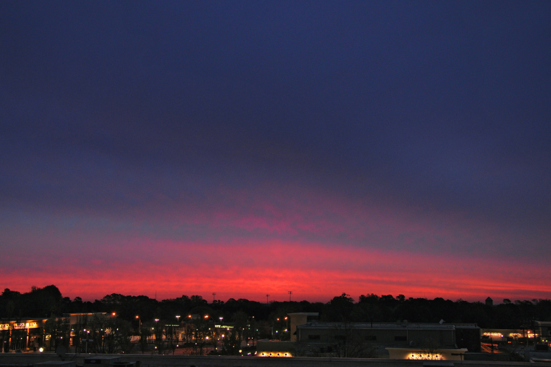 Raleigh Sunrise 20090413