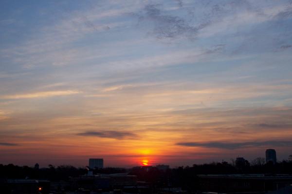Raleigh Sunrise 20070212