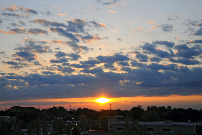 Raleigh Sunrise 20090421