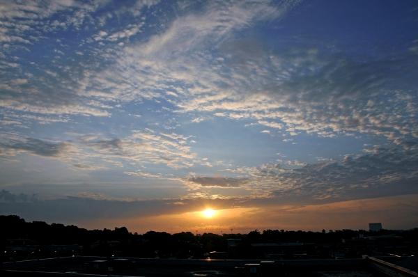Raleigh Sunrise 20090503