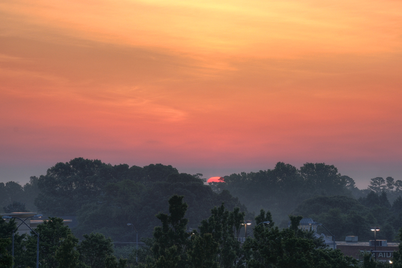 Raleigh Sunrise 20090512