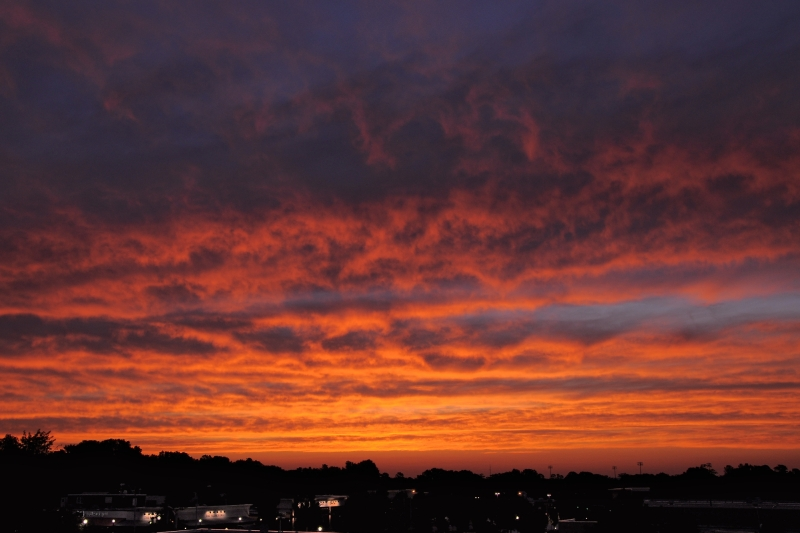 Raleigh Sunrise 20090621