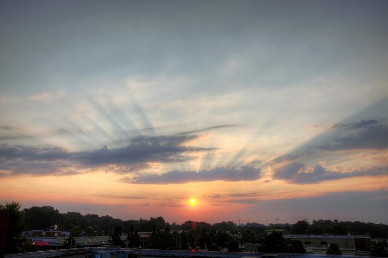Raleigh Sunrise 20090626
