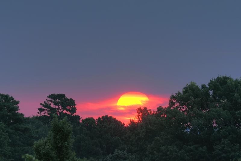 Raleigh Sunrise 20090710