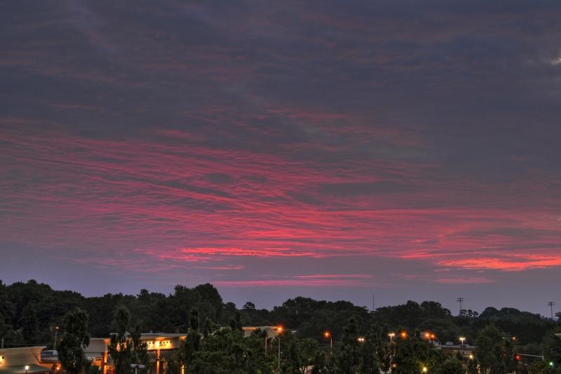 Raleigh Sunrise 20090717