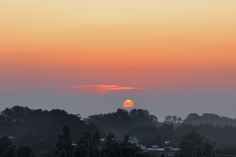 Raleigh Sunrise 20090804