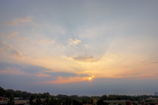 Raleigh Sunrise 20090808