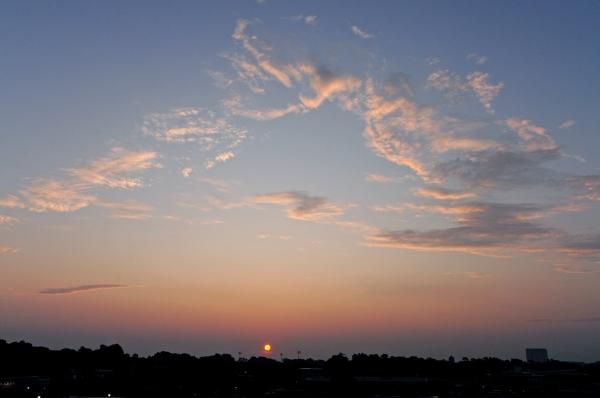 Raleigh Sunrise 20090817