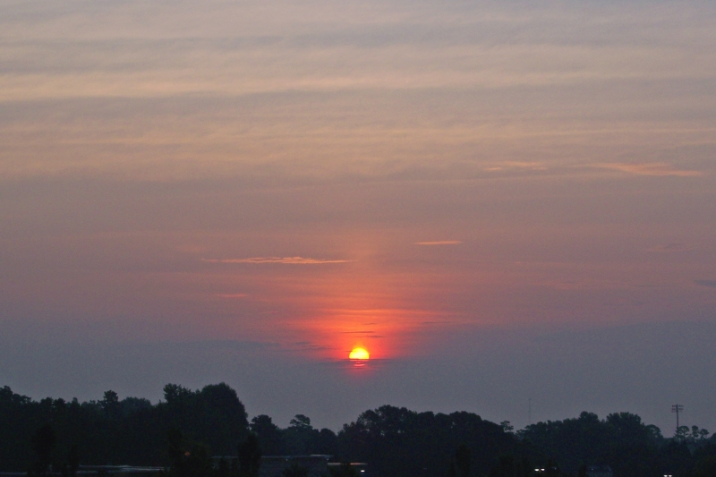 Raleigh Sunrise 20070620