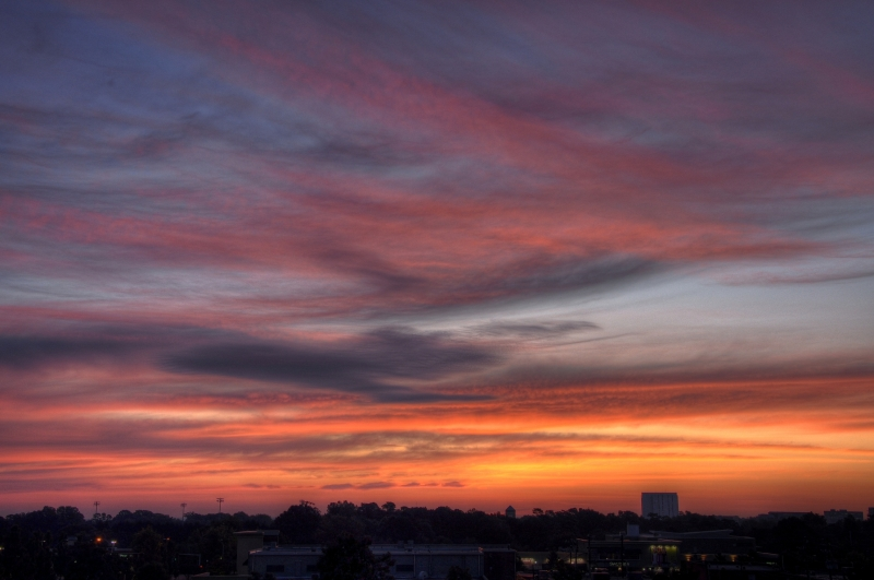 Raleigh Sunrise 20091002