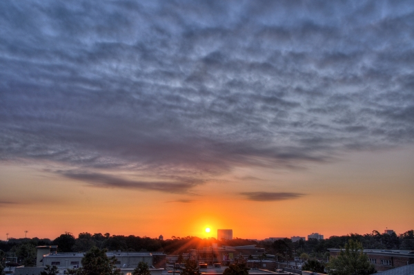 Raleigh Sunrise 20091009