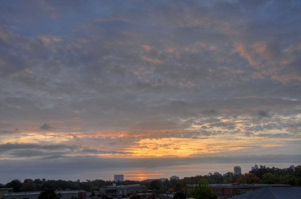 Raleigh Sunrise 20091024