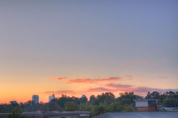 Raleigh Sunrise 20091029