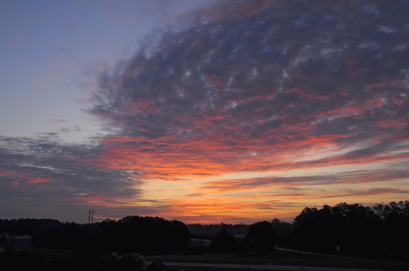 Cary Sunrise 20091122