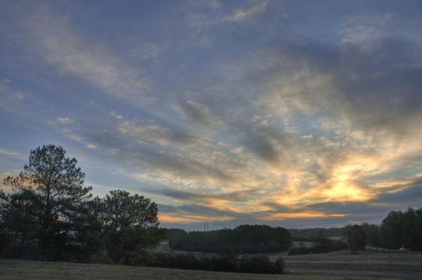 Cary Sunrise 20091227