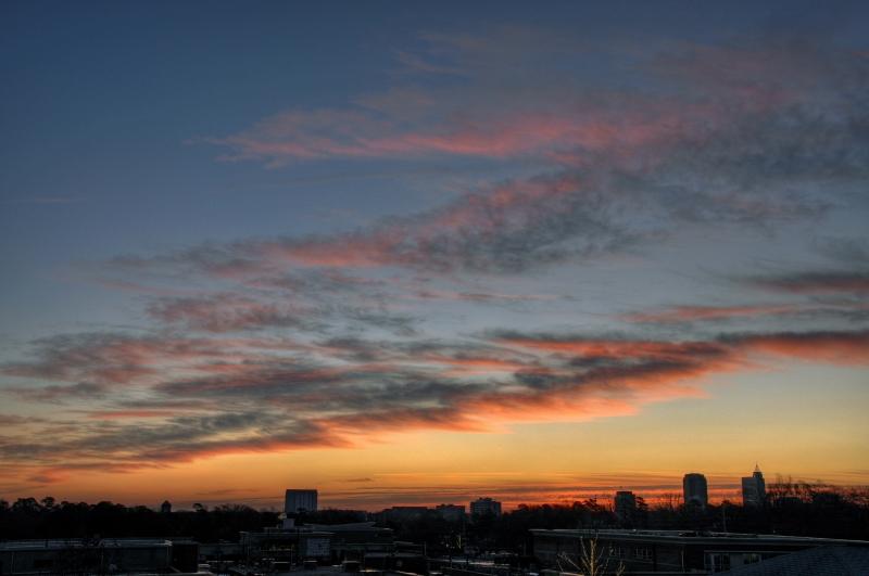 Raleigh Sunrise 20091228