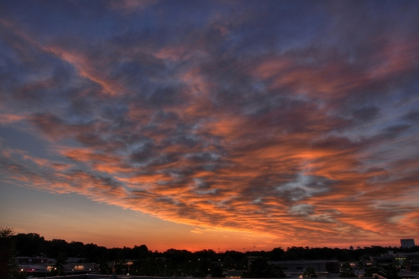 Raleigh Sunrise 20100509
