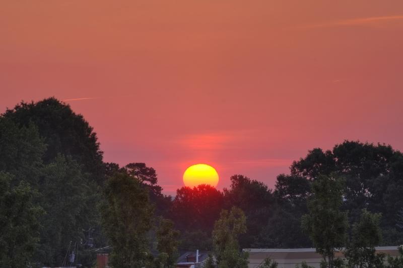 Raleigh Sunrise 20100527