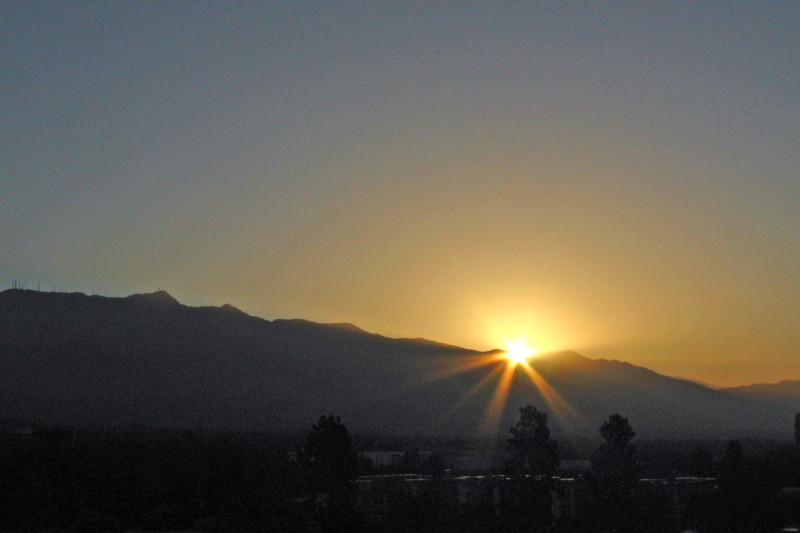 Pasadena Sunrise 20100620