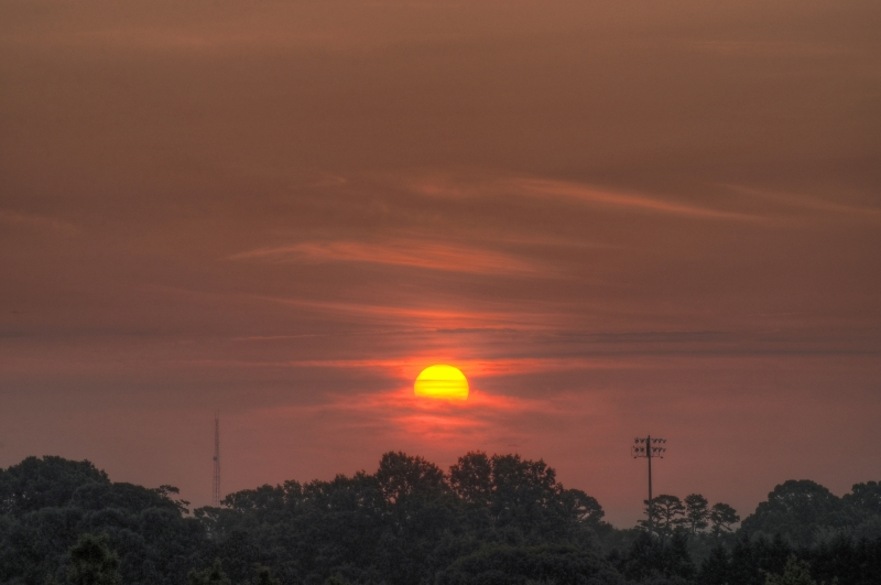 Raleigh Sunrise 20100803