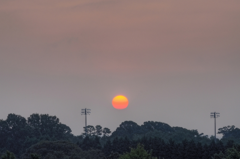 Raleigh Sunrise 20100813