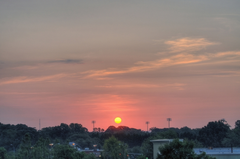 Raleigh Sunrise 20100815