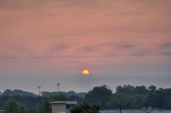 Raleigh Sunrise 20100829
