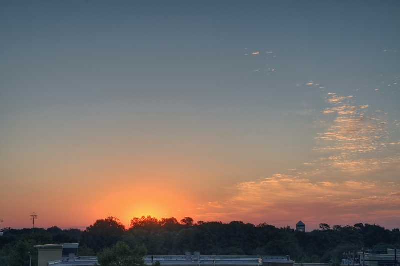 Raleigh Sunrise 20100910