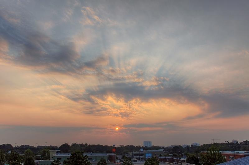 Raleigh Sunrise 20100924