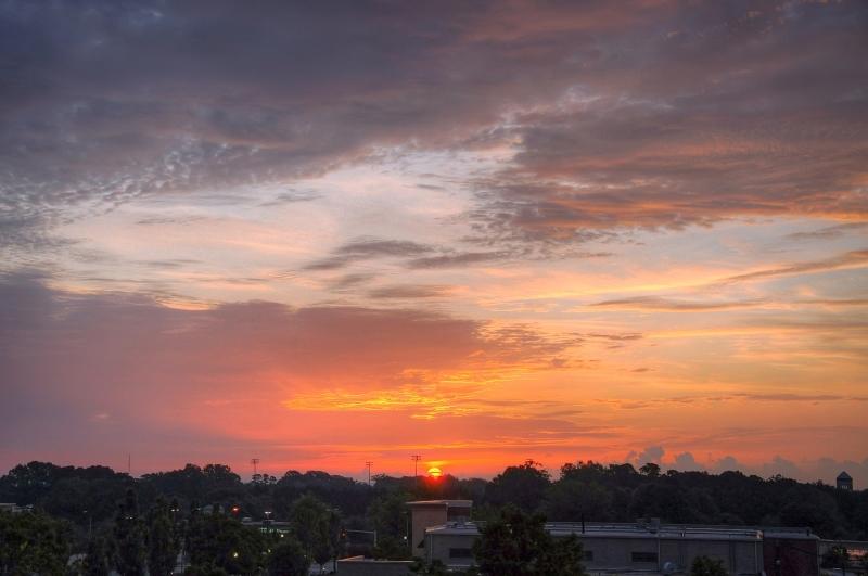 Raleigh Sunrise 20090828