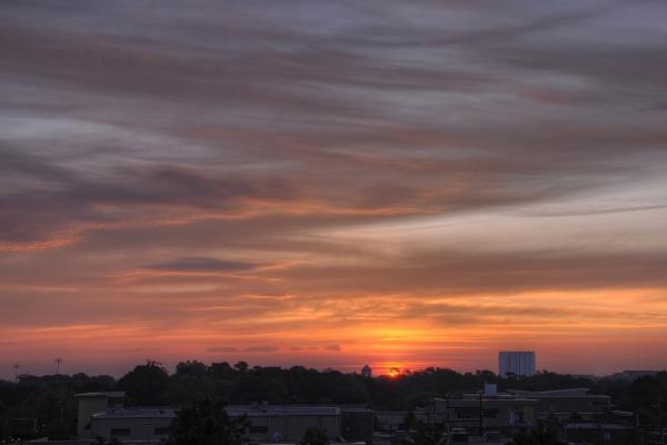 Raleigh Sunrise 20091002